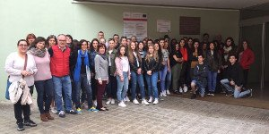 Visita de alumnos del Lycée Sidoine Apollinaire